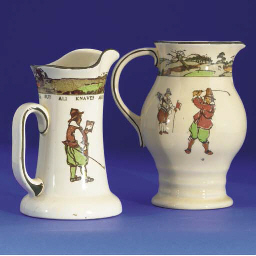 A ROYAL DOULTON SERIES WARE WA