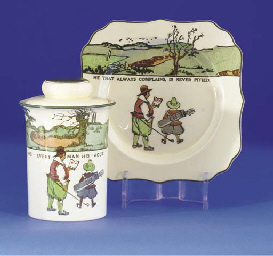 A ROYAL DOULTON SERIES WARE TO