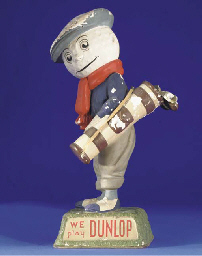 A DUNLOP ADVERTISING FIGURE