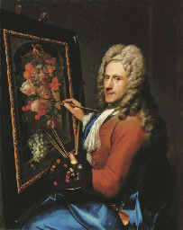 Portrait of the painter Coenra