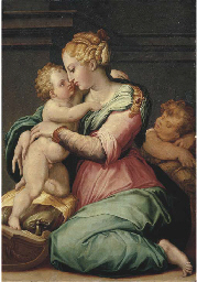 The Madonna and Child with the