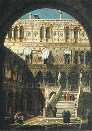 The courtyard of the Ducal Pal