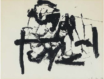 JAMES BROOKS (1906-1992)