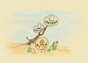 Lanvin Perfume illustration fe
