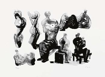 Ideas for Sculptures (Cramer 3