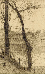 View of a river; and a Rabbi r