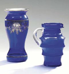 A CAMBRIDGE GLASSWORKS COBALT