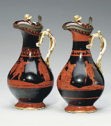 A PAIR OF NEOCLASSICAL STYLE P