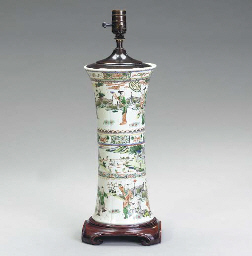 TWO CHINESE EXPORT VASES MOUNT