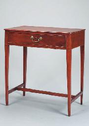 A GEORGE III WRITING TABLE,