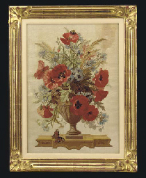 A BEAUVAIS TAPESTRY STILL LIFE