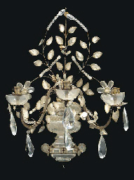 A BAGUES STYLE ROCK CRYSTAL TH