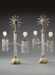 A PAIR OF REGENCY STYLE ORMOLU