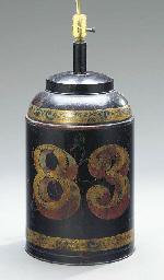 A PARCEL GILT TEA CANISTER MOU