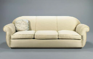 A CONTEMPORARY THREE CUSHION S