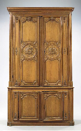 A LOUIS XV PROVINCIAL CARVED O