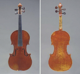A Violin, workshop of Paul Bai