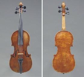 A half-sized Violin by Jakob S