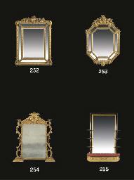 A Victorian gilt composition m