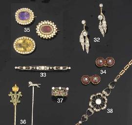 Three 19th century gem and see