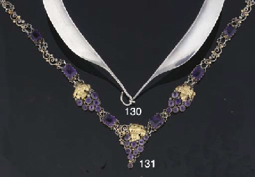 A collar necklace designed by