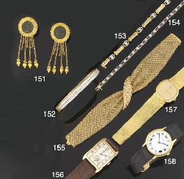 A gentleman's 9ct. gold wristw