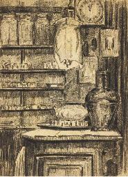 Un coin de la cuisine du Lapin