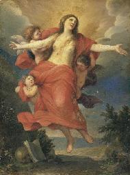 Le ravissement de sainte Madel