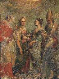 Saintes Agathe et Lucie
