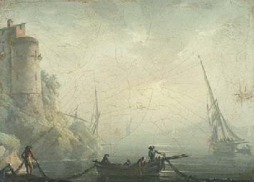 Pêcheurs déroulant leurs filet