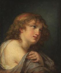 Tête de Cupidon