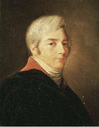 Portrait d'un homme en buste d