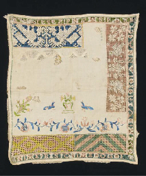 A sampler worked by Dymphna El