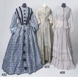 A lady's two-piece summer gown
