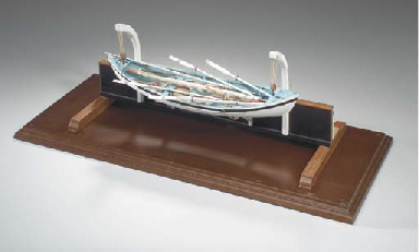A scale model of a Nantucket w