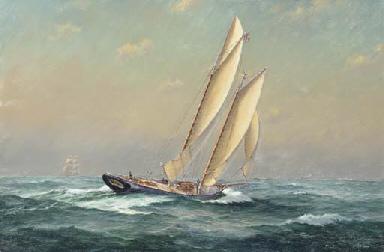 The schooner yacht America, 18