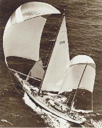 The yacht Ticonderoga