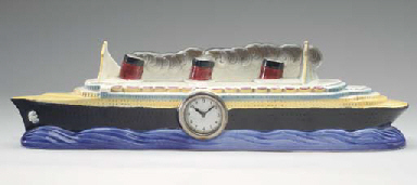 A ceramic model of the S.S. No