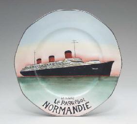 A souvenir Limoges plate, a se