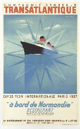 A bord de Normandie, Expostion