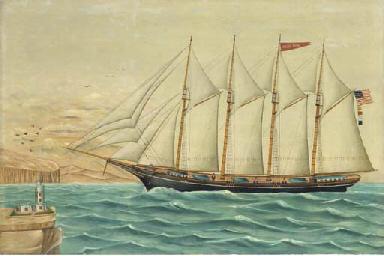 The clipper ship Eagle Wing