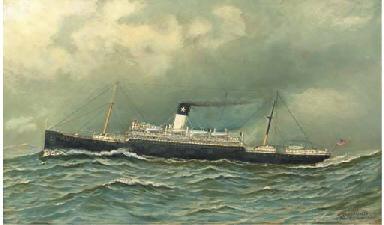 The Antilles at sea