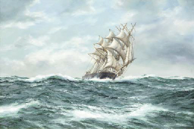 Stormy weather tea clipper Spi