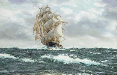 The American clipper Glory of