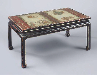 A CHINESE STYLE LOW TABLE