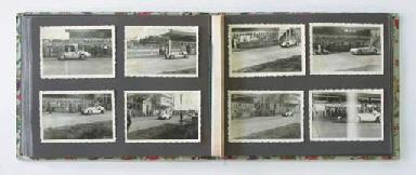 Un album de photographies d'év