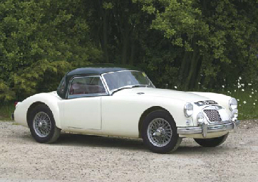 MGA ROADSTER RALLY CAR, Ex-usi