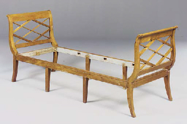 A PAIR OF FRENCH FRUITWOOD DAY
