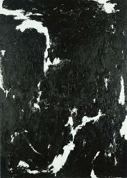 Abstract in black and white