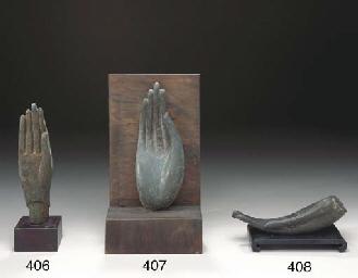 A THAI BRONZE HAND